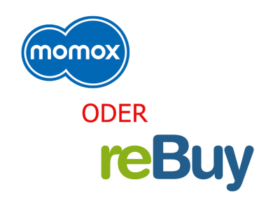momox oder reBuy? Warum nicht beides?